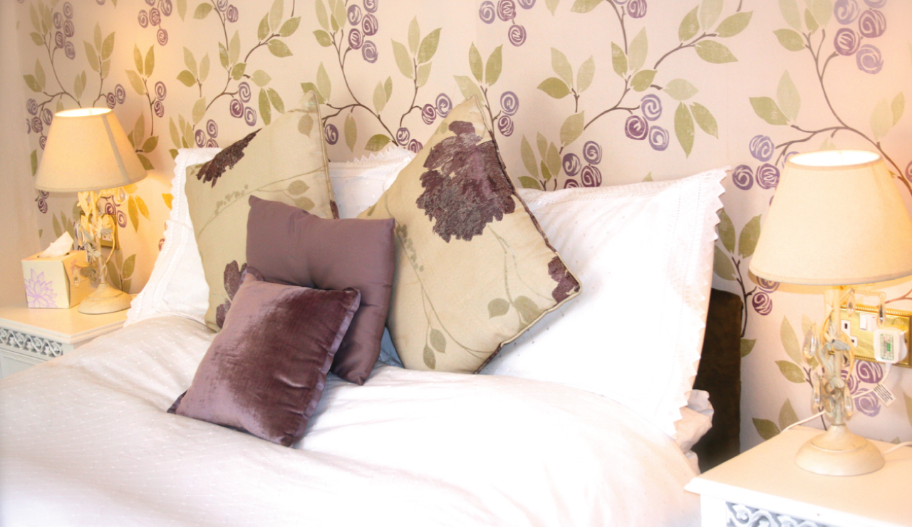 Lilac Double Room Detail